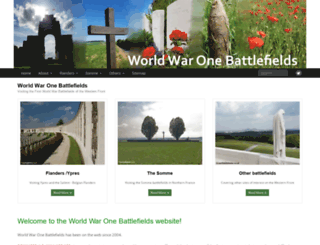 ww1battlefields.co.uk screenshot