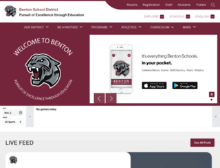ww2.bentonschools.org screenshot