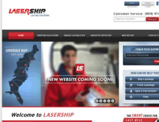 ww2.lasership.com screenshot