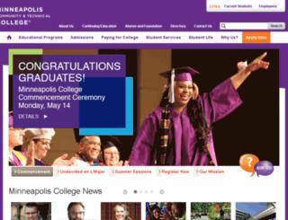 ww2.minneapolis.edu screenshot