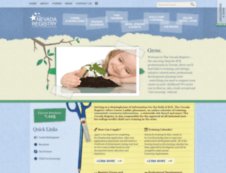 ww2.nevadaregistry.org screenshot
