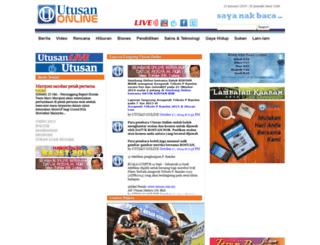 ww2.utusan.com.my screenshot
