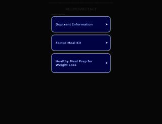 ww25.recipesweet.net screenshot