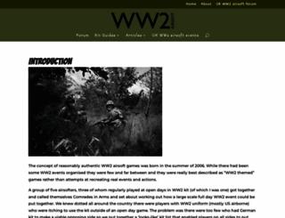 ww2airsoft.org.uk screenshot