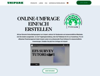 ww3.unipark.de screenshot