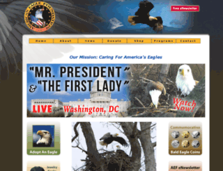 ww3w.eagles.org screenshot