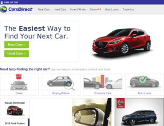 ww7.carsdirect.com screenshot