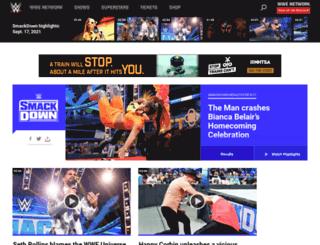 wwe.com.tr screenshot