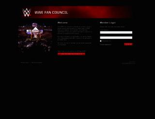 wwefancouncil.com screenshot