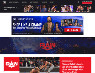 wweraw.com screenshot