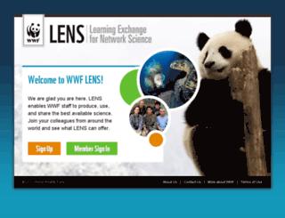 wwfscience.org screenshot