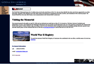 wwiimemorial.com screenshot