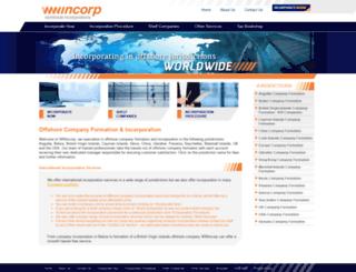 wwincorp.com screenshot