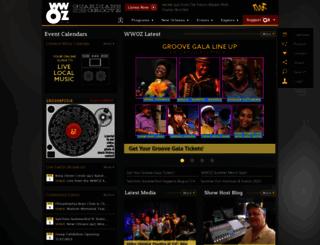 wwoz.org screenshot