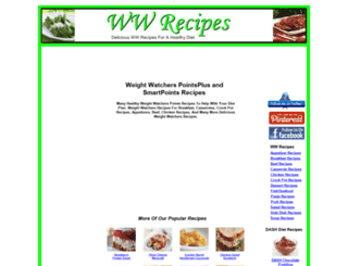 wwrecipes.net screenshot