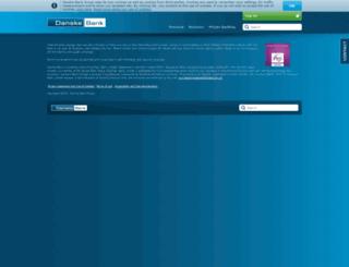 www-2.danskebank.co.uk screenshot