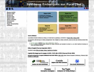 www-asim.lip6.fr screenshot