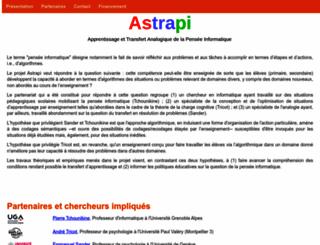 www-cabri.imag.fr screenshot