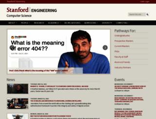 www-cs.stanford.edu screenshot