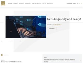 www-en.kdd.si screenshot