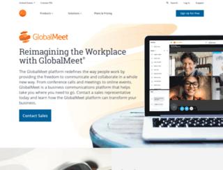 www-eu1.globalmeet.com screenshot