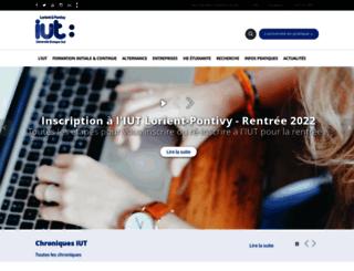 www-iutlorient.univ-ubs.fr screenshot