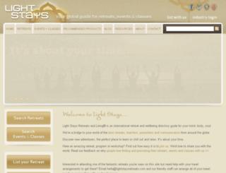 www-lightstaysretreats-com.secure-aus.com screenshot