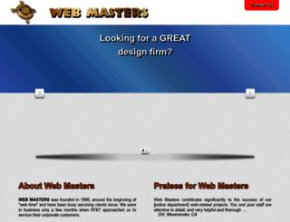 www-masters.com screenshot