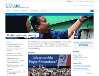 www-ns.iaea.org screenshot