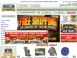 www-origin.sportsmansguide.com screenshot