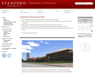 www-psych.stanford.edu screenshot