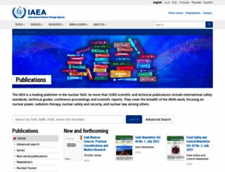 www-pub.iaea.org screenshot