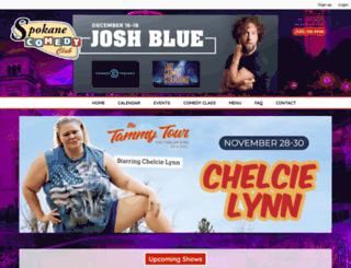 www-spokanecomedyclub-com.seatengine.com screenshot