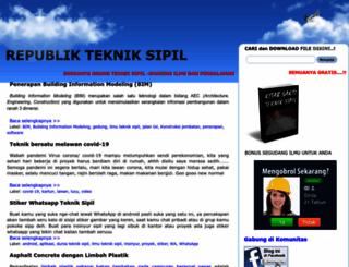 www-tekniksipil.blogspot.com screenshot