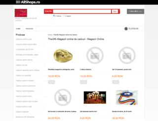 www-thegift-ro.allshops.ro screenshot