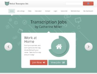 www-transcription.net screenshot