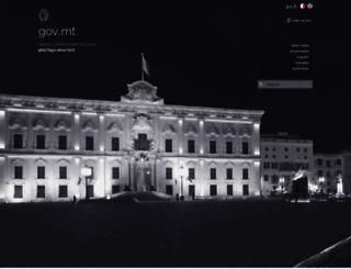 www.gov.mt screenshot