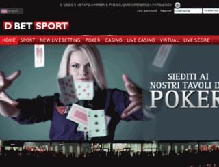 www1.dbetsport.com screenshot
