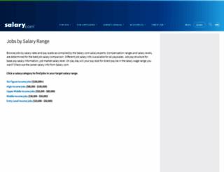 www1.salary.com screenshot