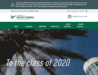 www1.usfsp.edu screenshot