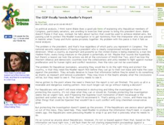 www2.boomantribune.com screenshot