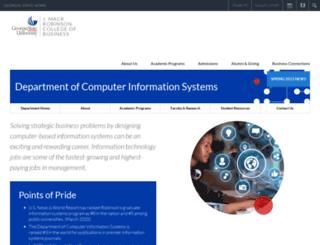 www2.cis.gsu.edu screenshot