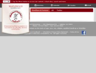 www2.cpsb.org screenshot