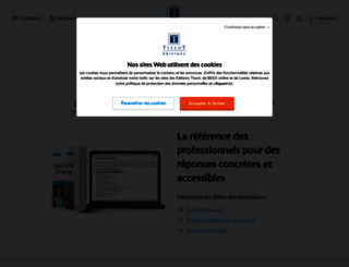 www2.editions-tissot.fr screenshot