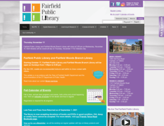 www2.fairfieldpubliclibrary.org screenshot