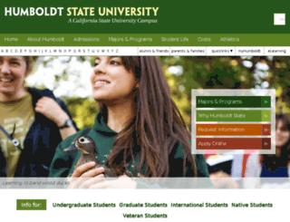www2.humboldt.edu screenshot