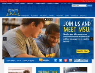 www2.moreheadstate.edu screenshot