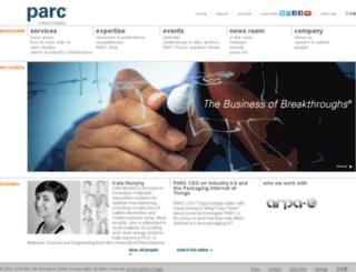 www2.parc.com screenshot