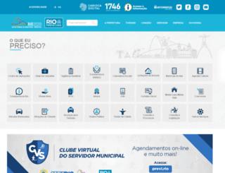 www2.rio.rj.gov.br screenshot