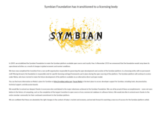 www2.symbian.org screenshot